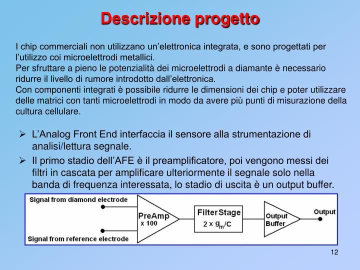 Descrizione progetto