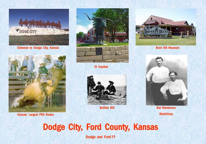 Entrance  to  Dodge  City,  Kansas