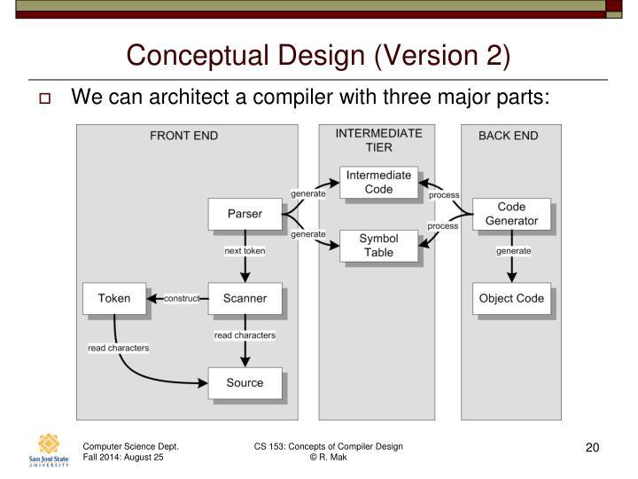 Conceptual Design (Version 2)