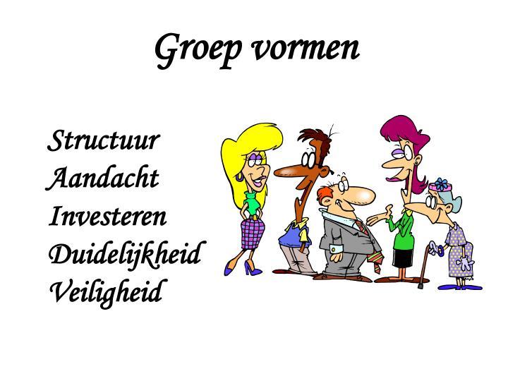 Groep vormen