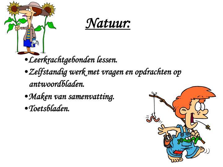 Natuur: