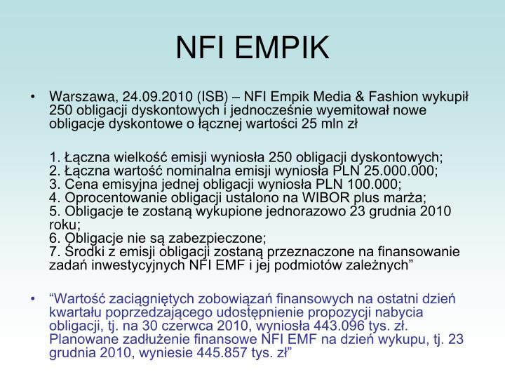 NFI EMPIK