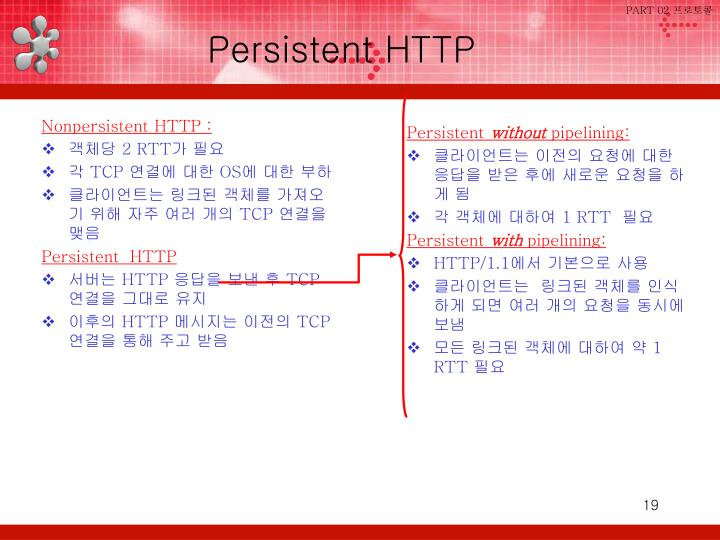 Nonpersistent HTTP :