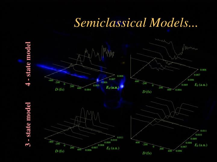 Semiclassical Models...