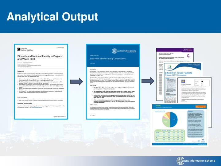 Analytical Output