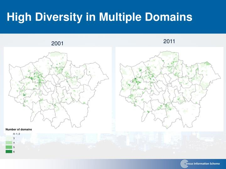 High Diversity in Multiple Domains