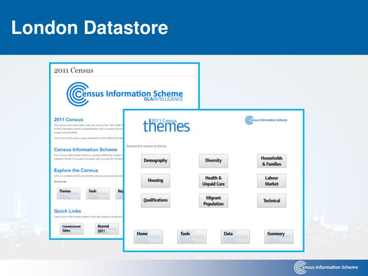 London Datastore