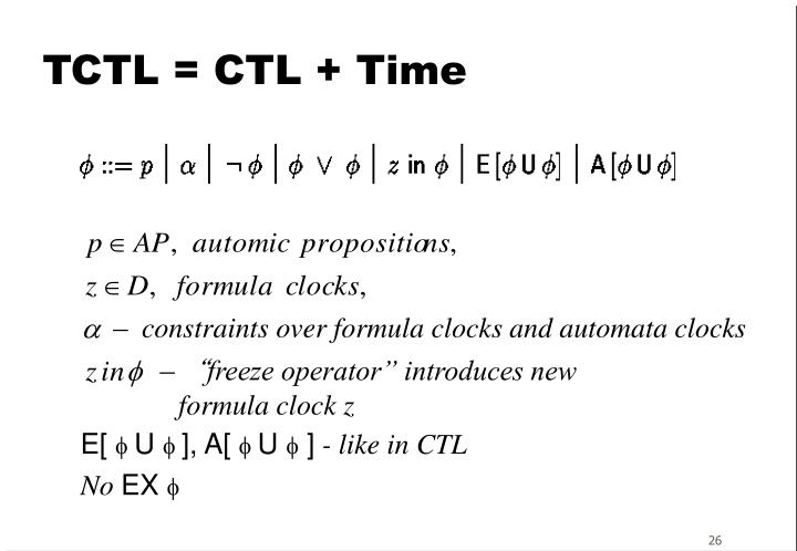 TCTL = CTL + Time