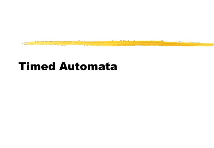 Timed automata