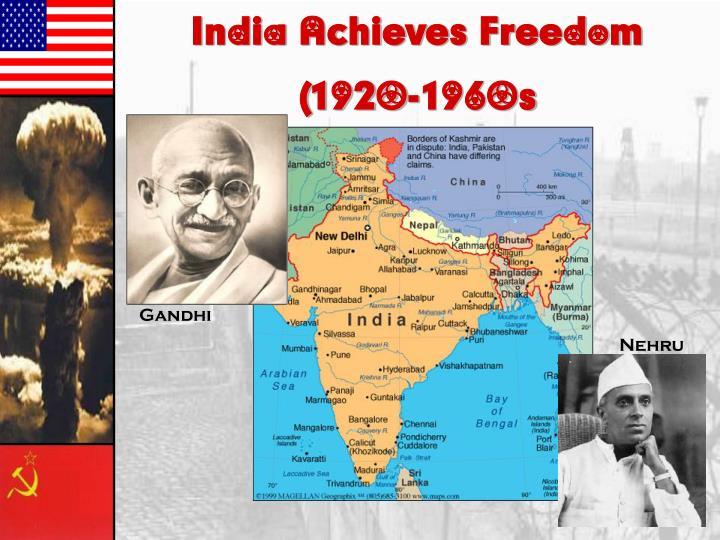 India Achieves Freedom