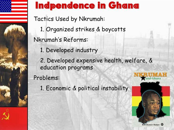 Indpendence in Ghana