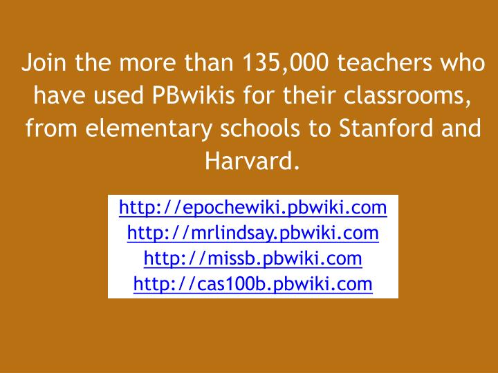 Join the more than 135,000 teachers who