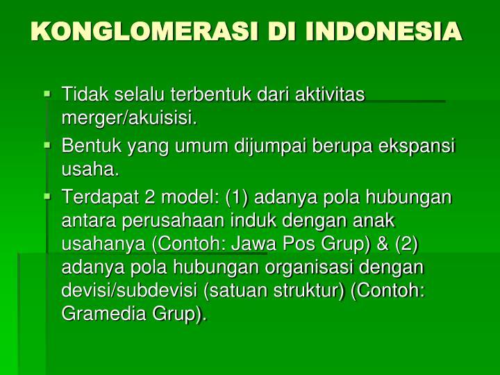 KONGLOMERASI DI INDONESIA