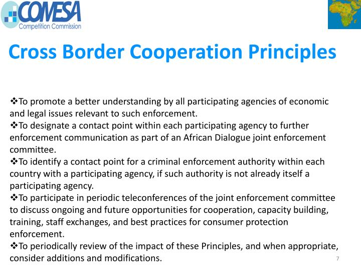 Cross Border Cooperation