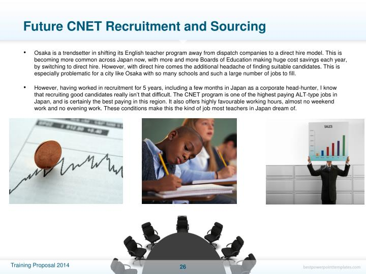Future CNET Recruitment and Sourcing