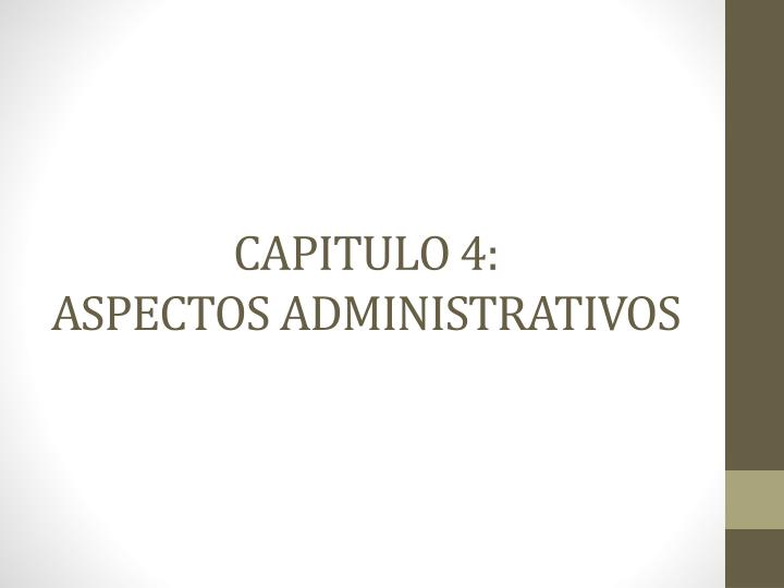CAPITULO 4: