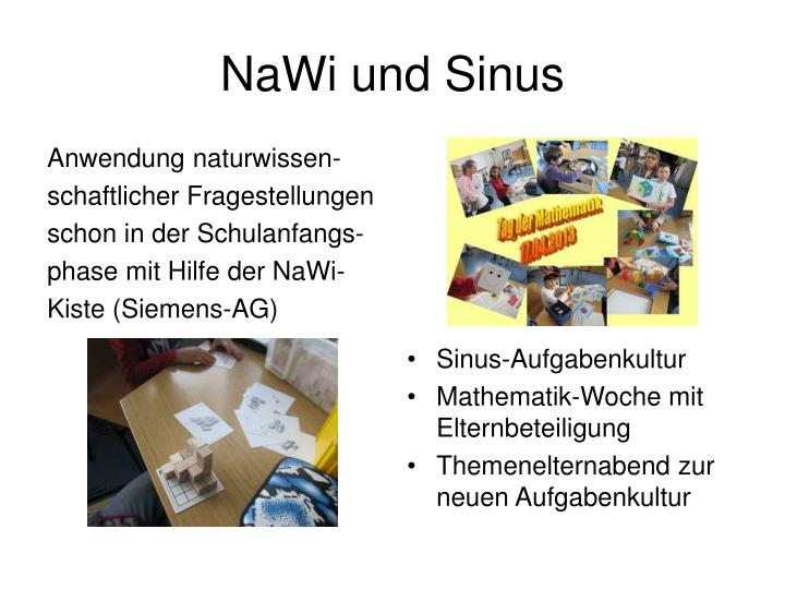 NaWi und Sinus