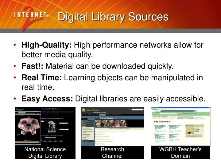 Digital Library Sources