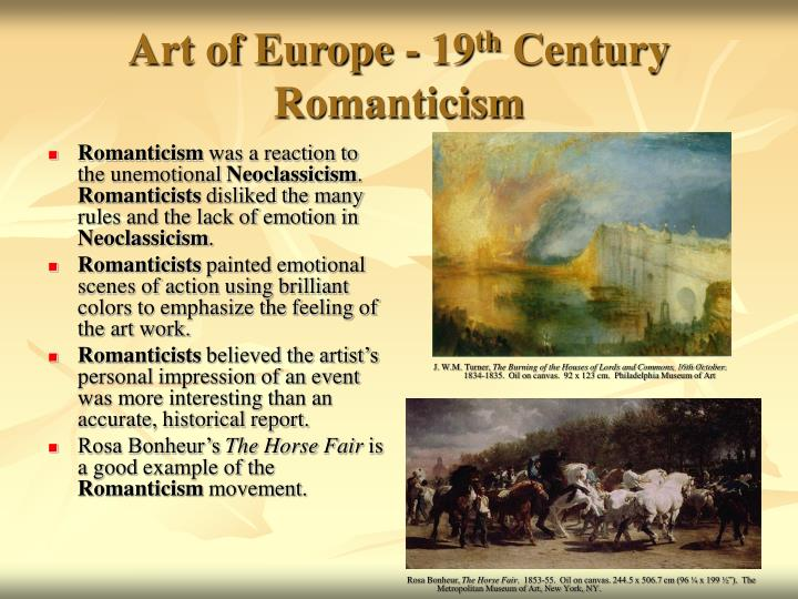 Romanticism Questions and Answers