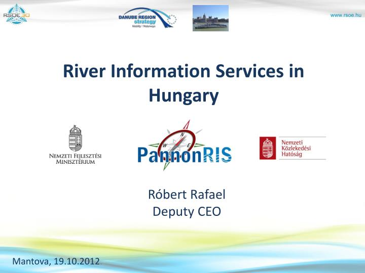 River information services in hungary