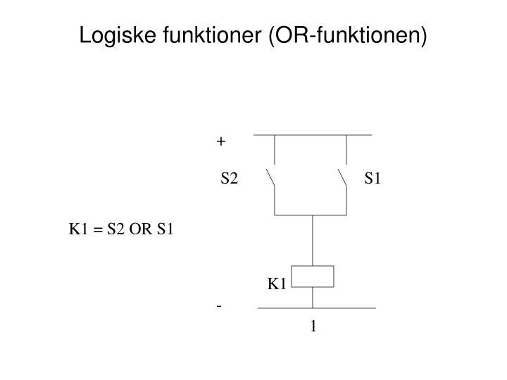Logiske funktioner (OR-funktionen)