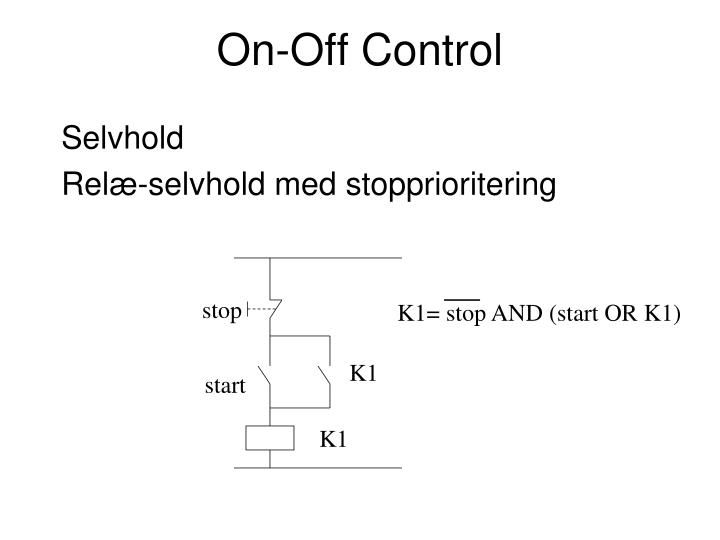 On-Off Control
