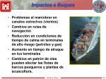 impactos a buques