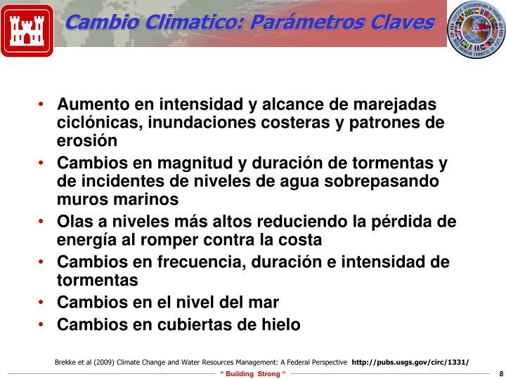 Cambio Climatico: Par