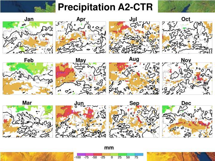 Precipitation A2-CTR