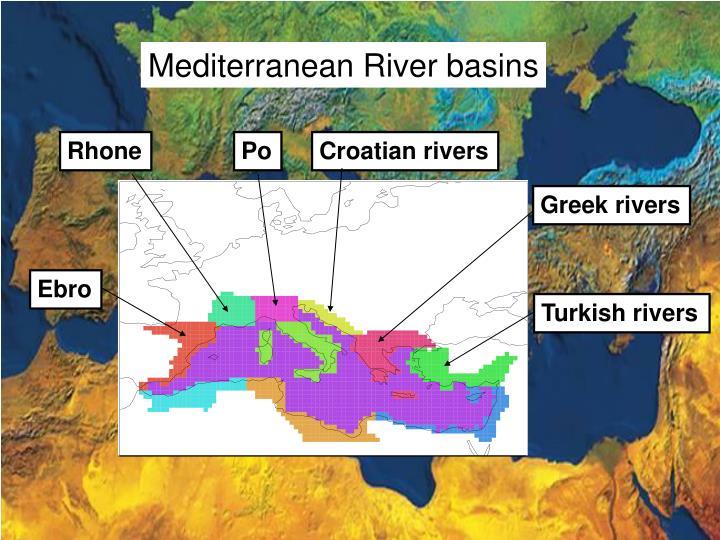 Mediterranean River basins