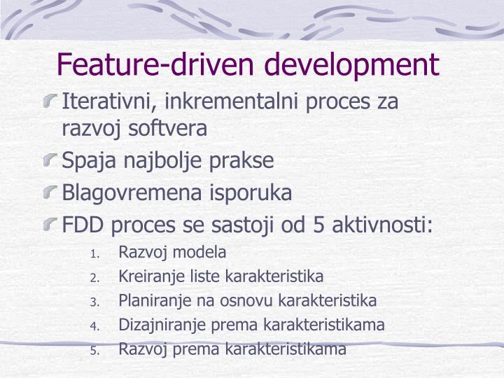 Feature-driven development