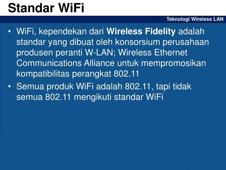 Standar WiFi