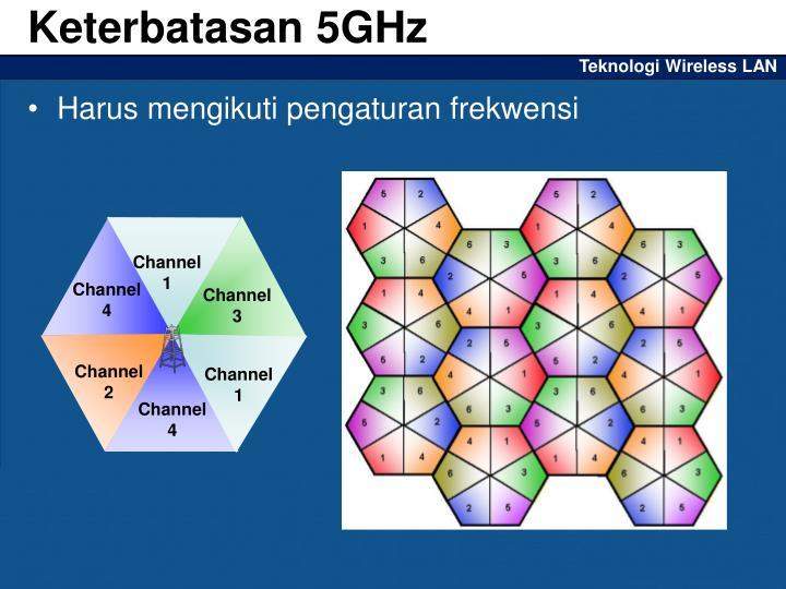 Keterbatasan 5GHz