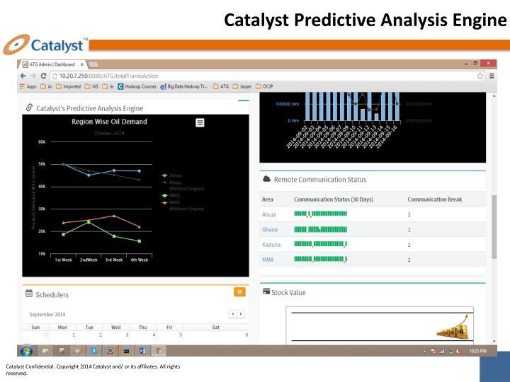 Catalyst Predictive Analysis Engine
