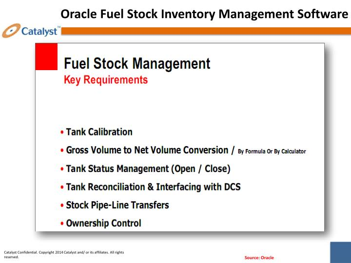 Oracle Fuel Stock Inventory Management Software