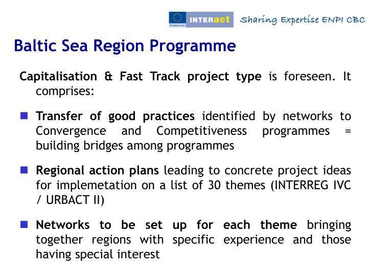 Baltic Sea Region Programme