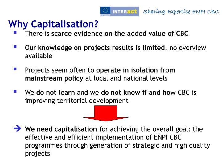Why Capitalisation?