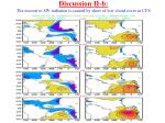 discussion ii b the excessive sw radiation is caused by short of low cloud cover in cfs