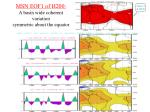 msn eof1 of h200 a basin wide coherent variation symmetric about the equator