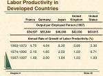 labor productivity in developed countries