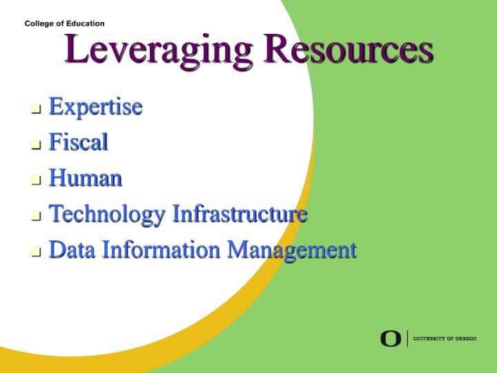 Leveraging Resources
