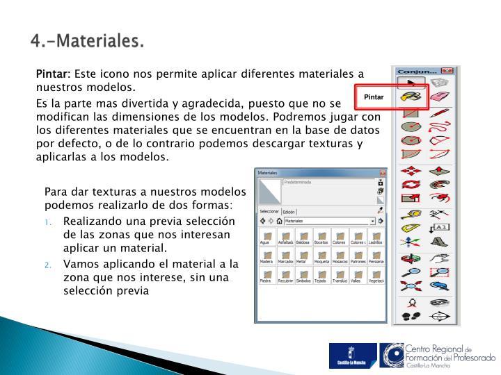 4.-Materiales.
