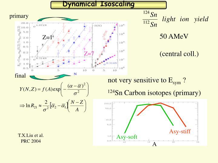 Dynamical Isoscaling