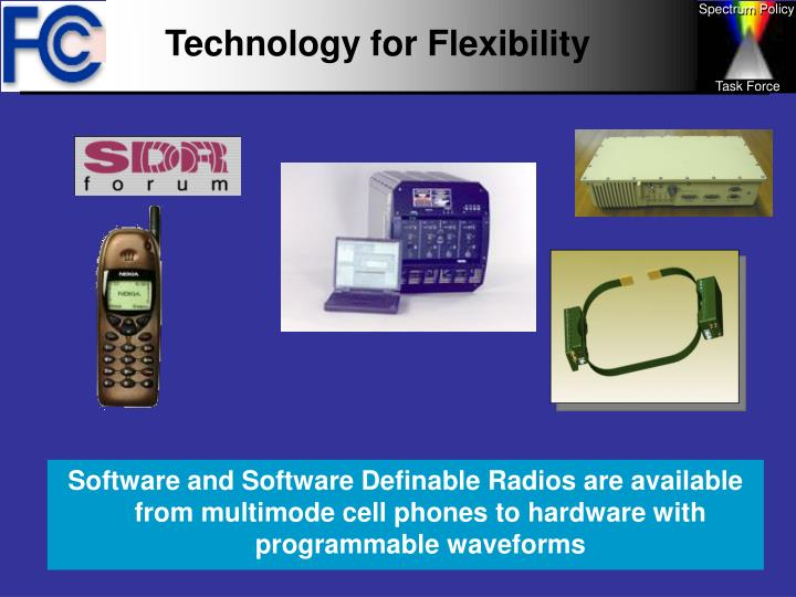 Technology for Flexibility