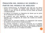 creaci n del modelo de dise o a partir del modelo de an lisis3