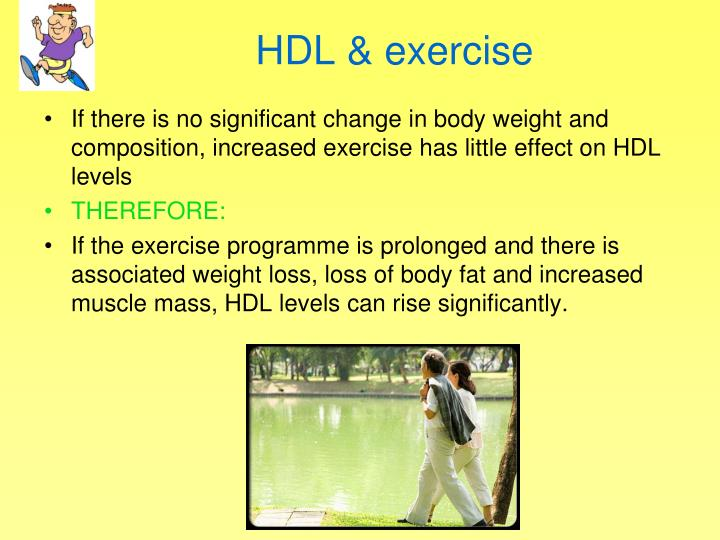 HDL & exercise