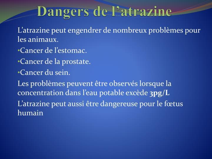 Dangers de
