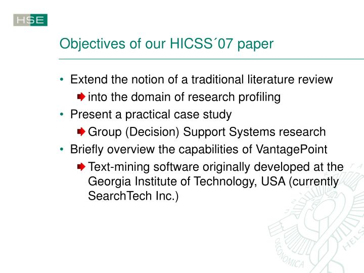 text mining research paper Abstract text mining is a very exciting research area as it tries to discover knowledge from unstructured texts these texts can be found on a computer desktop, intranets and the internet the aim of this paper is to give an overview of text mining in the contexts of its techniques, application domains and the most challenging.