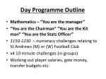 day programme outline2