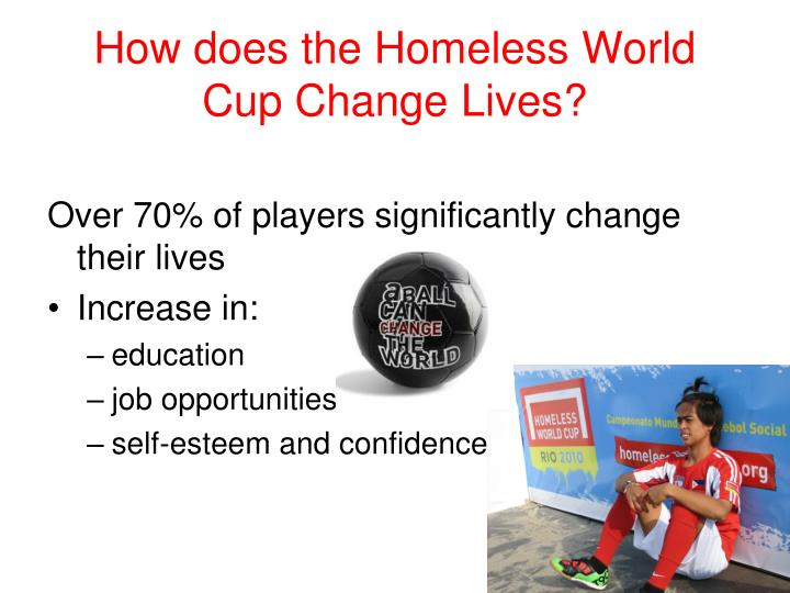 How does the Homeless World Cup Change Lives?